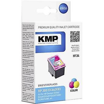 KMP Tinte ersetzt HP 300 kompatibel Cyan, Magenta, gelb H134 1710,4840