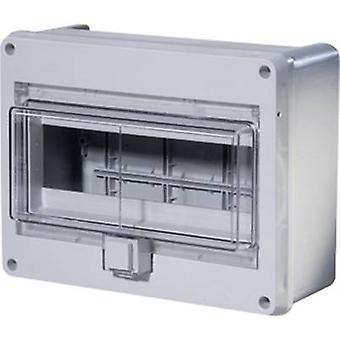 F-Tronic 7240052 KV10WDKE Switchboard cabinet Surface-mount No. of partitions = 10 No. of rows = 1