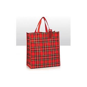 جاك الاتحاد ارتداء حقيبة تسوق الملكي ستيوارت الترتان