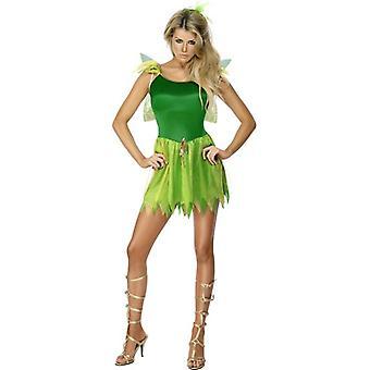Woodland Fairy Costume, UK Dress 12-14