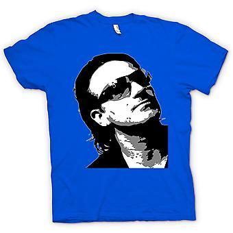 Kvinner t-skjorte - Bono U2 - BW