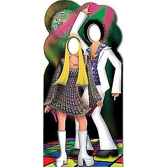 Disco dois Stand-In - recorte de papelão Lifesize / cartaz