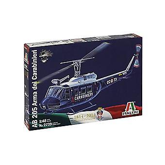イタレリ 2739 AB 205 アルマ ・ デイ ・ Carabin Ieri ヘリコプター