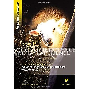 Notes de York sur William Blake Songs of Innocence (Notes de York avancés)