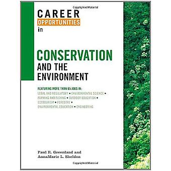 Karriärmöjligheter inom bevarande och miljö