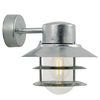 Galvanised Outdoor Wall Downlight - Nordlux Blokhus Down 25051031