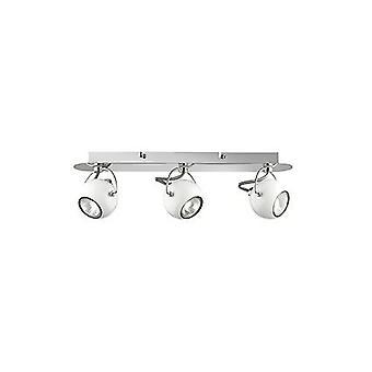 Ideal Lux - tre IDL077901 di filo luce bianco Lunare