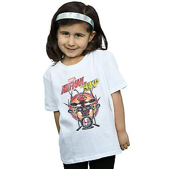 Marvel Mädchen Ant-Man und die Wespe Schlagzeuger Ant-t-Shirt