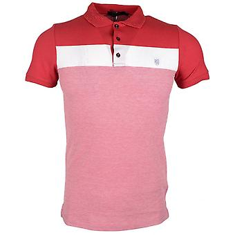 883 Police Knight Cotton Red Polo
