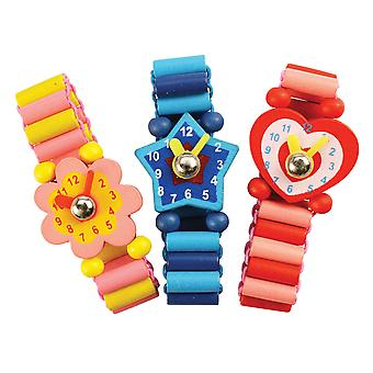 Bigjigs Toys Snazzy Wooden Watches