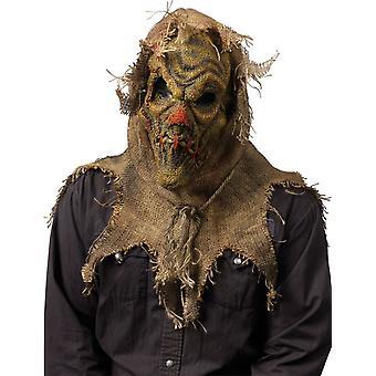 Scarecrow natuurlijke masker voor Halloween