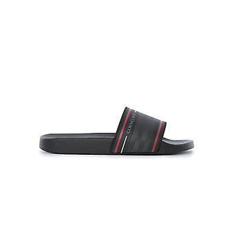 Corneliani 83tm819120958020 Men's Black Pvc Sandals