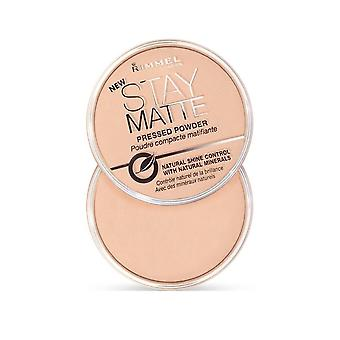 Rimmel London Stay Matte Long Lasting Pressed Powder Matte 14g Pink Blossom #02