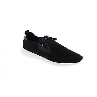 Robert Wayne Kayleb Mens Black Suede Low Top Lifestyle Sneakers Chaussures