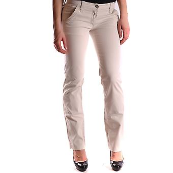 La Martina Ezbc259002 Women's White Cotton Pants
