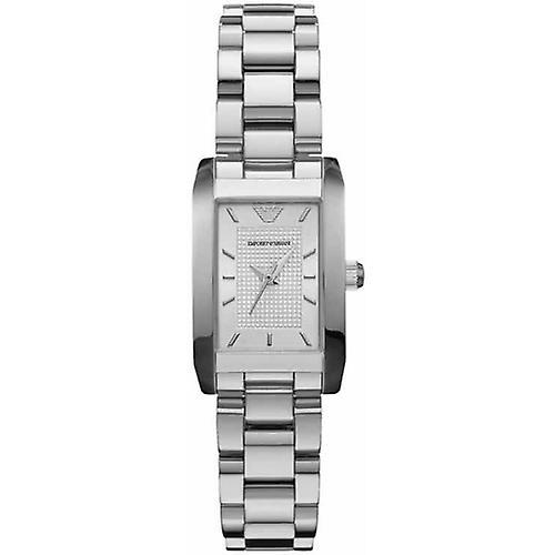 Emporio Armani Watches Ar0359 Ladies Classic Silver Watch