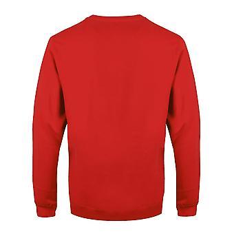 Superman Adults Unisex Adults Fair Isle Christmas Crewneck Sweatshirt