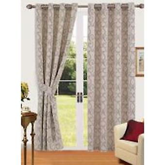 Comfort Collection Eyelet Curtain-Club