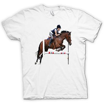 Kids T-shirt-springconcours paard