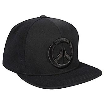 Baseball Cap - Overwatch - Blackout Hat Logo Stretch-Fit New j7691
