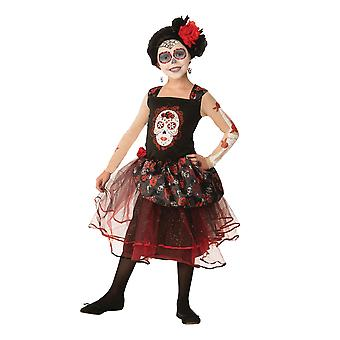 Bristol Novelty Childrens/Girls Rose Senorita Costume