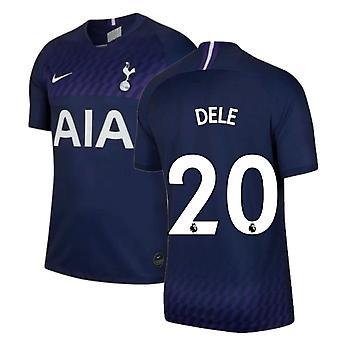 2019-2020 トッテナムアウェイナイキフットボールシャツ(キッズ)(DELE 20)