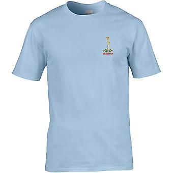 Royal Signals veteran-licenseret British Army broderet Premium T-shirt