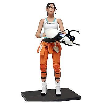 """Portal 7"""" Chell Figure with Light Up Portal Device"""