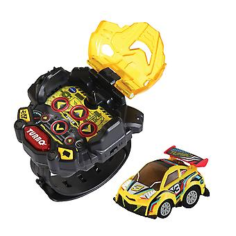 Vtech Turbo Force Racers Remote Control Toy Car Yellow