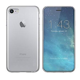 iPhone SE 2020 ja 8 ja 7 tapauksessa silikoni läpinäkyvä - CoolSkin3T
