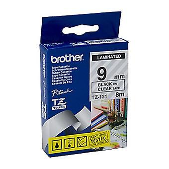 Brother TZe121-tarra nauha 8 metriä