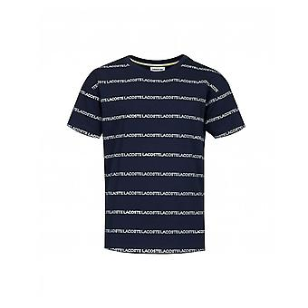 Lacoste All Over Stripe T-shirt