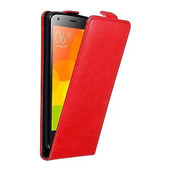 Cadorabo Hülle für Xiaomi Mi 2 Case Cover - Handyhülle im Flip Design mit Magnetverschluss - Case Cover Schutzhülle Etui Tasche Book Klapp Style