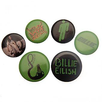 Billie Eilish Button Badge Set