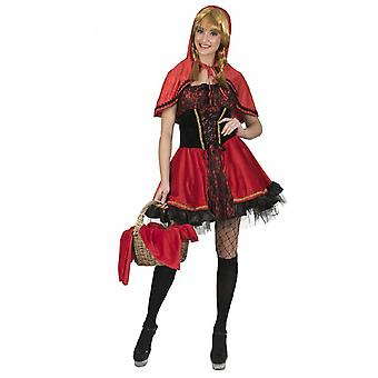 Kostym Rödluvan Marei kvinnors kostym Fairytale Carnival Carnival Red Riding Hood