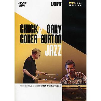 Corea, Chick & Gary Burton - Chick Corea & Gary Burton Jazz [DVD] USA import