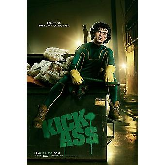 KICK-ASS Poster - (Aaron Johnson) doppelseitig ADVANCE US ONE SHEET (2010) ORIGINAL CINEMA POSTER