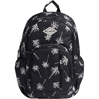 Billabong Roadie Backpack in Black/Whitecap