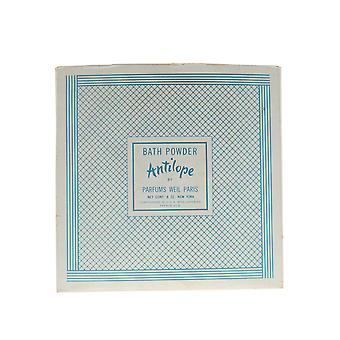 Weil 'Antilope' Bath Powder 8oz/226g New In Box