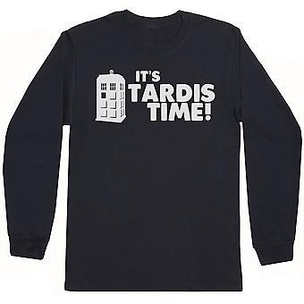 It's Tardis Time! - Mens Long Sleeve T-Shirt