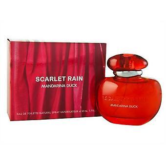 Mandarina Duck Scarlet Rain Eau de Toilette 50ml EDT Spray