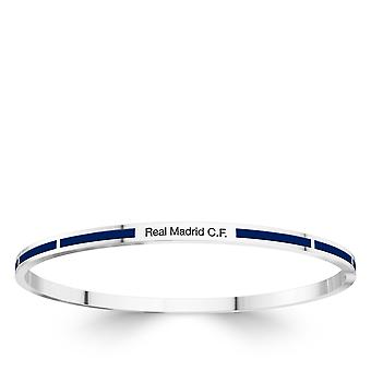 Real Madrid FC Bracelet In Sterling Silver Design by BIXLER