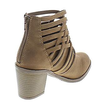 Almond Toe Ankle Fashion Boots