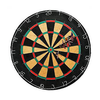 Tournament Bristle Dartboard w 6 Regulation Steel tip darts