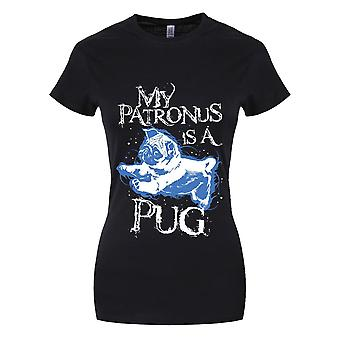 Grindstore Womens/Ladies My Patronus Is A Pug T-Shirt