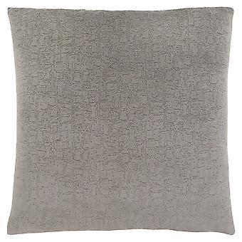 "18"" x 18"" Grey, Mosaic Velvet - Pillow"