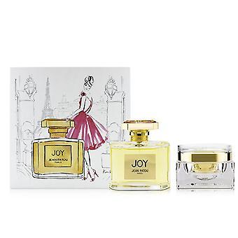 Joy Coffret : Eau De Parfum Spray 75ml/2.5oz + Body Cream 100ml/3.4oz - 2pcs