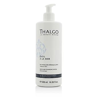 Thalgo Eveil A La Mer Micellar Cleansing Water (face & Eyes) - For All Skin Types Even Sensitive Skin (salon Size) - 500ml/16.9oz