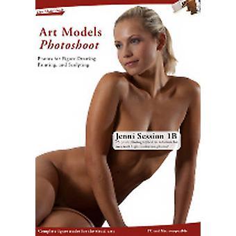 Kunst modellen fotoshoot Jenni 1B sessie door Douglas Johnson