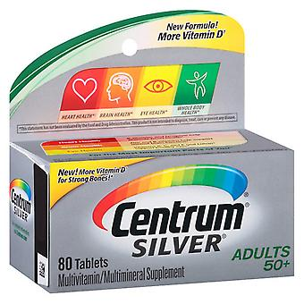 Centrum silver adults 50+ multivitamin, tablets, 80 ea